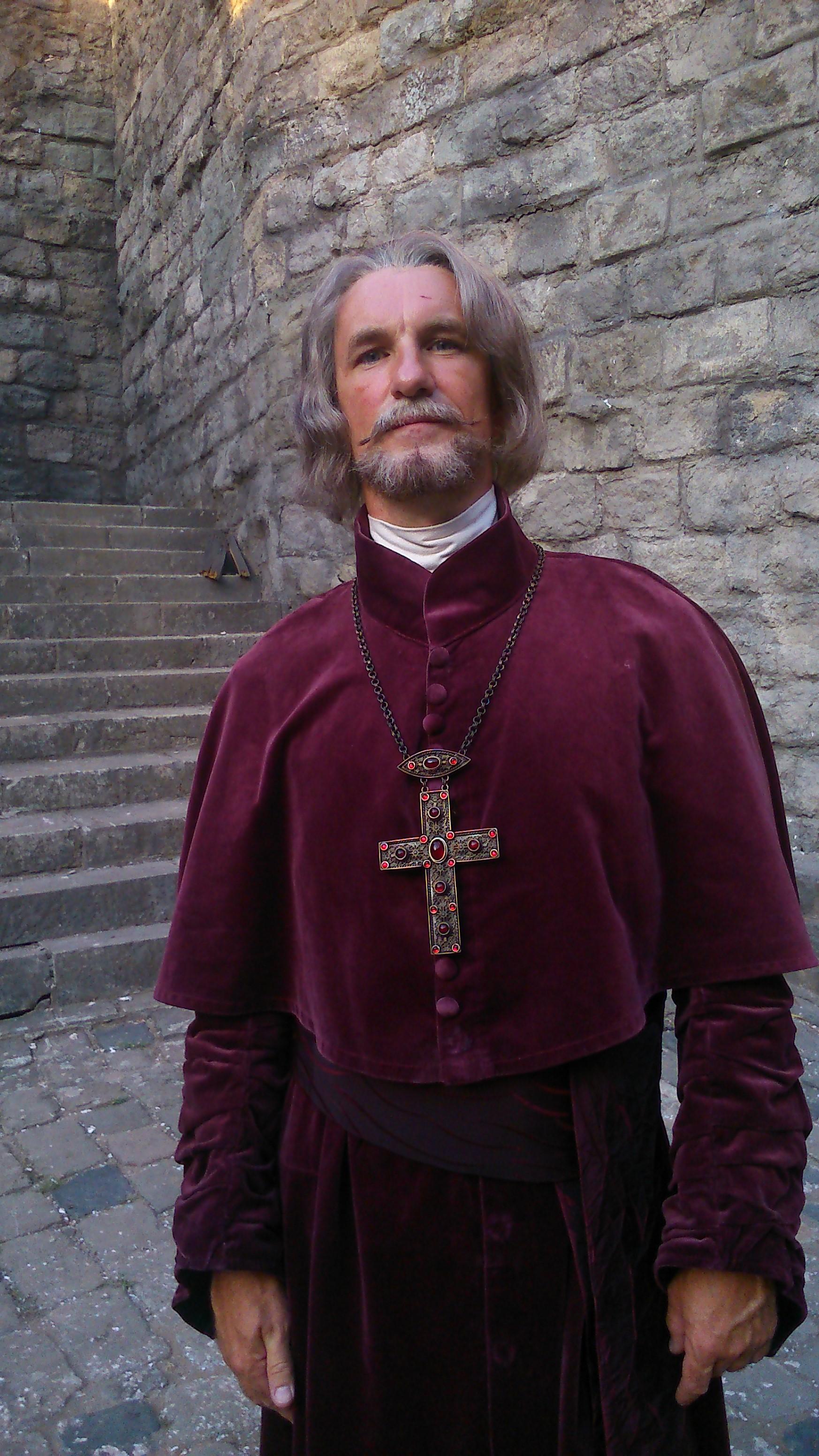 A király halála c. film - Brodarics püspök